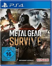 Metal Gear Survive PS4 Playstation 4 NEUF + EMBALLAGE ORIGINAL