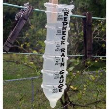 Hill Billy Redneck Rain Gauge Really WORKS rubber condom