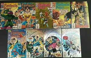 Fantastic Four # 392-400 Marvel Comics 1994-95 the Avengers Galactus
