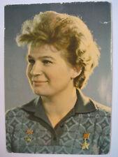 Walentina Tereschkowa signiert V. Tereshkova Kosmonaut Autogramm Unterschrift