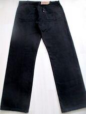 Jean LEVIS 501  W40  L34  Taille 50  coupe droite noir