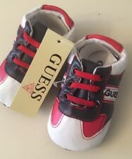 *NWT Baby Shoes Sz 6-12m ~ GUESS logo BRAND NEW