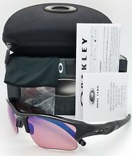 NEW Oakley Flak Jacket XLJ sunglasses Polished Black G30 Iridium 26-239 GENUINE