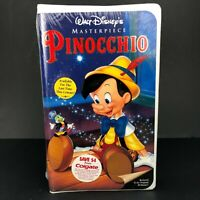 Pinocchio Disney Masterpiece (VHS, 1993) Brand New Factory Sealed