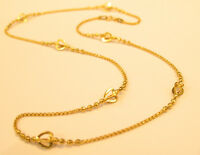 18K GOLD NECKLACE FROM SINGAPORE ##76
