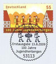BRD 2009: los albergues nº 2753 con sólo bonn etiquetas-sello especial! 1a! 1510