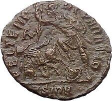 CONSTANTIUS II Constantine the Great son 351AD Ancient Roman Coin Horse i30884