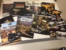 Harley Owners Group HOG Touring Handbooks 2008, 2009, 2011 Thru 2017