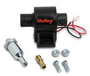 Holley 12-426 Mighty Mite Electric Fuel Pump 25 GPH 1.5-4 PSI Made in USA!!