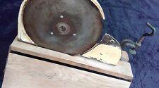 ancien COUPE JAMBON DE TABLE 1960 BELGIQUE,loft,usine,vintage,industriel