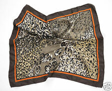 Neu Coccinelle Seide Tuch Schal Halstuch Scarf 65cm x 65cm 1-15 (75) #789