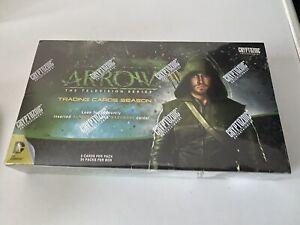 ARROW SEASON 1 TRADING CARDS BOX SEALED AUTOGRAPH