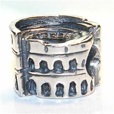 TEDORA COLOSSEO ROMA BEAD AUTHENTIC 925 SILVER FIT EUROPEAN BEADS BV 072