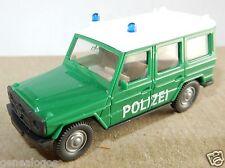 WIKING HO 1/87 MERCEDES BENZ G 350 4X4 POLICE ALLEMANDE POLIZEI intérieur gris