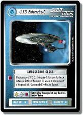Star Trek CCG Reflections U.S.S. Enterprise-C Very Rare Foil VRF