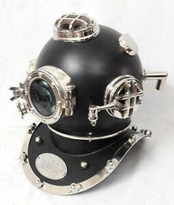 Divers Diving Helmet Vintage Maritime Scuba U.S Navy Mark V Deep Sea Decor