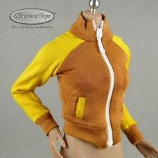 1/6 Scale Phicen, TBLeague, Flirty Girl Female Brown & Yellow Sports Jacket