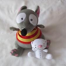 TOUPIE TOOPY & BINOU BINOO Plush Doll peluche TV Movie 2009 Spectra SOURIS MOUSE