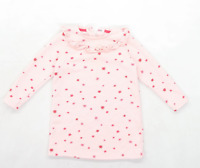 Marks & Spencer Girls Pink Dress Age 2-3 Years