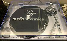 Audio-Technica at-lp120-usb directamente propulsión tocadiscos-Plata