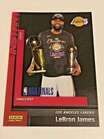 2019-20 Panini Instant Basketball Los Angeles Lakers Set #29 - Lebron James
