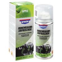 Presto Klimaanlagenreiniger Innenraumerfrischer 150ml Apfel Duft 157134