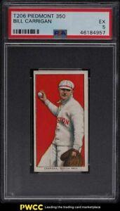 1909-11 T206 Bill Carrigan PSA 5 EX