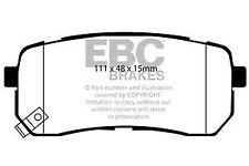 DP1814 EBC Ultimax Rear Brake Pads for HYUNDAI i-800