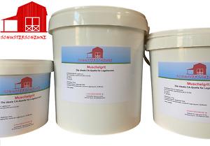 Muschelgrit (800g-15kg) 2-7 mm Austernschalen Kalk Muschel Schrot Austern Grit