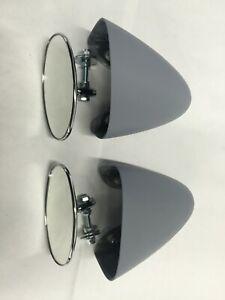 Porsche 550 spyder or 356 Speedster fender mirrors right and left side