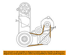 HONDA MOTORS 31110PY3A01 Replacement Belt