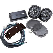 Kicker Coaxial Speaker Amp Batwing Fairing Kit Plug Play Harley 96-13 Touring