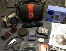 Canon PowerShot S110 12.1MP Digital Camera w/ Meikon Diving Housing- Wifi- Mint