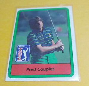 Fred Couples 1982 Donruss Golf #53 Rookie Card Fresh From Pack Near Mint Plus