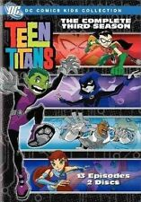 Teen Titans Complete Third Season 0012569833326 With Tara Strong DVD Region 1