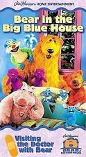 Bear in the Big Blue House - Visiting the Doctor with Bear (VHS, 2000)