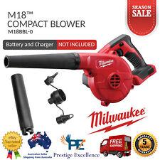 Milwaukee M18BBL 18V Li-Ion Cordless 3 Speed Compact Blower Skin Power Tools New