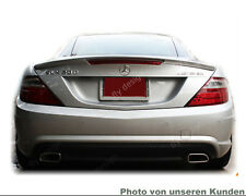 Mercedes R 172 SLK tuning amg type Roadster Spoiler Trunk Lid Lip new Silver 775