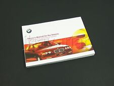 Genuine BMW Owners Manual E46 3 Series 09/1999 - 05/2000