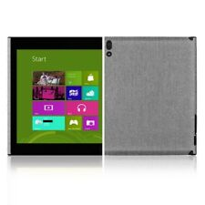 Skinomi Brushed Aluminum Skin Film+Screen Protector for Lenovo ThinkPad Tablet 2