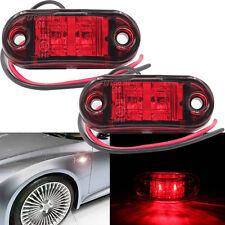 Red Car Piranha LED Lights, Truck Side Sign Light, Trailer Blinker Lamp Bulb