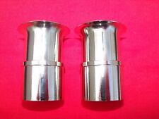 Weber 40 DCOE slot in trumpet stack 38mm air horn  X2