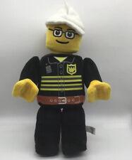Lego City Fireman Figure Plush Set 4601c From 2009