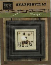 Stockyard-Snapperville Cross Stitch Leaflet With Snaps-Bent Creek