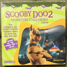 SCOOBY DOO 2 MONSTERS UNLEASHED Board GAME Pressman