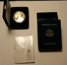 "COLLECTOR'S 2004 ""W""  SILVER AMERICAN EAGLE ONE DOLLAR COIN - PROOF"