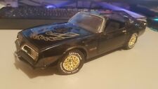 ERTL 1/18 1977 Pontiac Firebird Trans AM Smokey and the Bandit Diecast Model Car