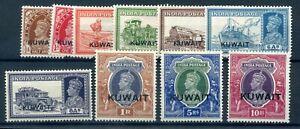 Kuwait KGVI MH selection inc better