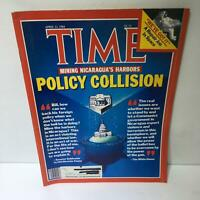 Time Magazine April 23 1984 Policy Collision