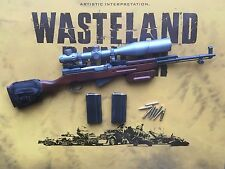 VTS Wasteland Ranger Mad Max Fury Road Sniper Rifle & Ammo loose 1/6th scale